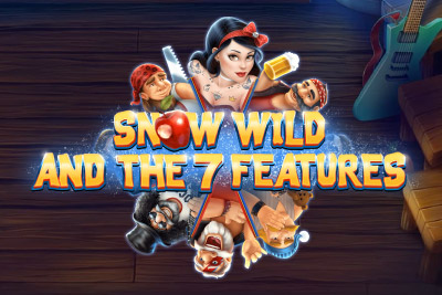 Snow Wild And The 7 Features Slot Logo