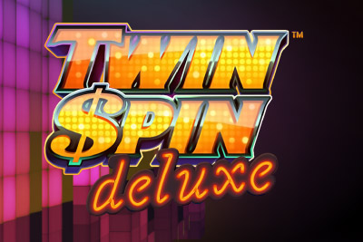 Twin Spin Deluxe Mobile Slot Logo