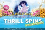 Get Your Vera & John Casino Thrill Spins Until 21st Jan
