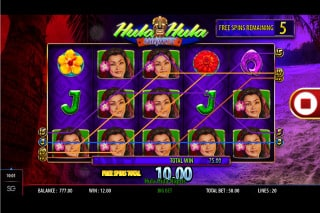 WMS Hula Hula Mobile Slot Win
