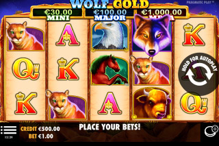 Wolf Gold Mobile Slot Machine