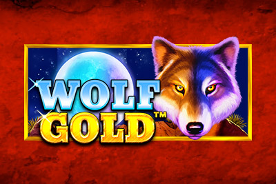 Wolf Gold Mobile Slot Logo