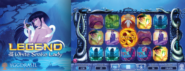 Yggdrasil Legend Of The White Snake Lady Slot Machine