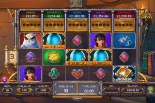 Yggdrasil Ozwins Jackpot Slot Free Spins