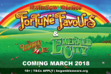 New Rainbow Riches Fortune Favours & The Wizard of Oz Emerald City
