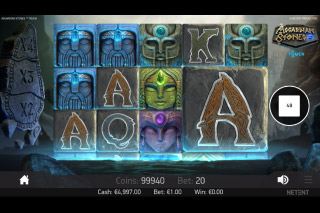 Asgardian Stones Mobile Slot Machine