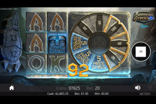 Asgardian Stones Slot Bonus Wheel