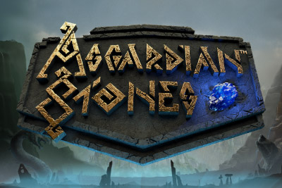 Asgardian Stones Mobile Slot Logo
