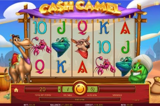 Cash Camel Mobile Slot Machine