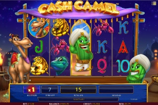 Cash Camel Mobile Slot Free Spins