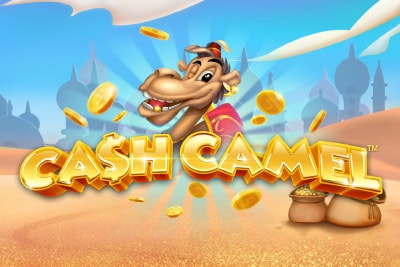 Cash Camel Mobile Slot Logo