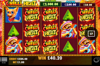 Chilli Heat Mobile Slot Machine