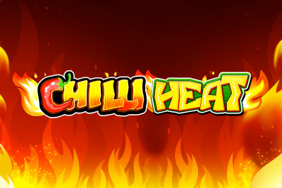 Chilli Heat Mobile Slot Logo