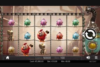 Eggomatic Mobile Slot Machine