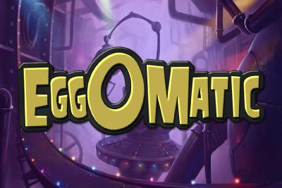 Eggomatic Mobile Slot Logo