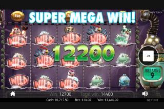 Eggomatic Slot Super Mega Win