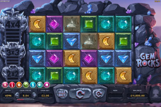 Gem Rocks Mobile Slot Machine