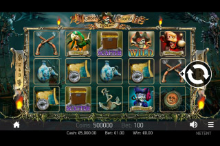 Ghost Pirates Mobile Slot Machine