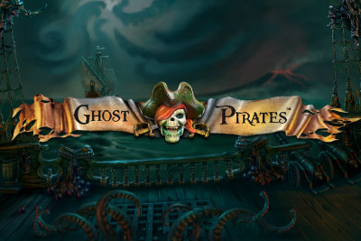 Ghost Pirates Mobile Slot Logo