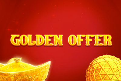Golden Offer Mobile Slot Logo