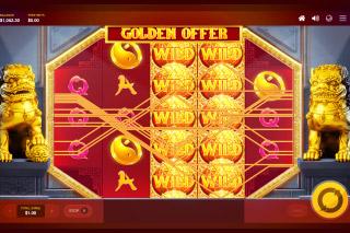 Golden Offer Slot Wilds Reels