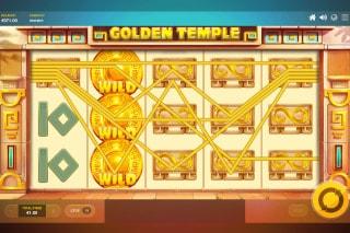 Golden Temple Slot Wilds Win