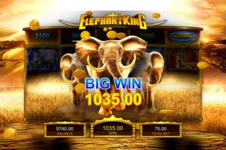 IGT Elephant King Slot Big WIn