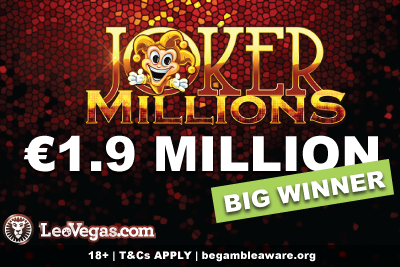 1.9 Million LeoVegas Casino Jackpot Winner Story