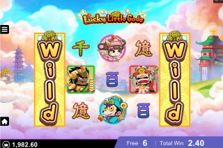 Lucky Little Gods Slot Free Spins