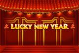 Lucky New Year Mobile Slot Logo