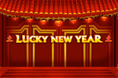Lucky New Year Mobile Slot Logo