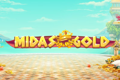 Midas Gold Mobile Slot Logo