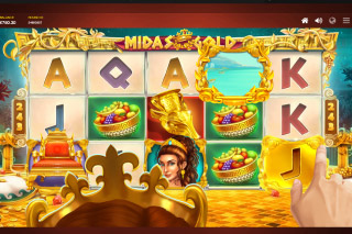 Midas Gold Mobile Slot Touch Pick