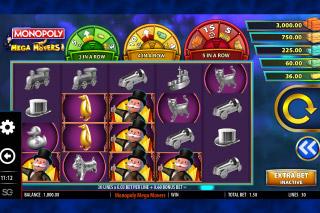 Monopoly Mega Movers Mobile Slot Machine