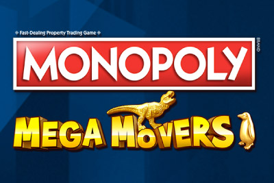 Monopoly Mega Movers Mobile Slot Logo
