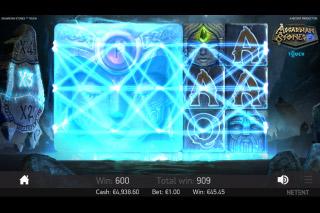 NetEnt Asgardian Stones Slot Colossal Symbol Win