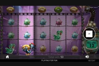 NetEnt Eggomatic Slot Bonus Feature
