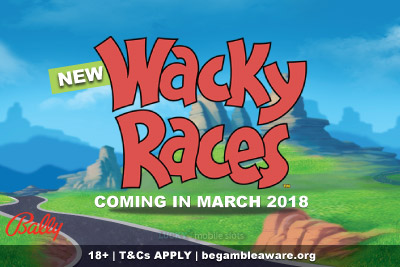 New Wacky Races Mobile Slot Coming March 2018