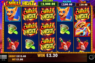 Pragmatic Play Chilli Heat Slot Free Spins