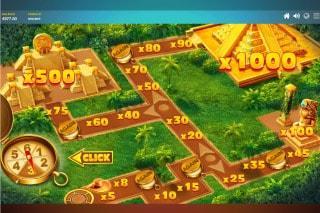 Red Tiger Golden Temple Slot Bonus Game