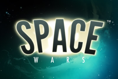 Space Wars Mobile Slot Logo