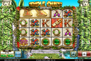 Temple Quest Spinfinity Mobile Slot Machine