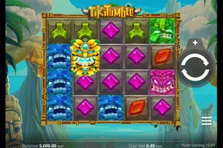 Tiki Tumble Mobile Slot Machine