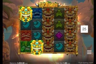 Tiki Tumble Slot Bonus Symbols