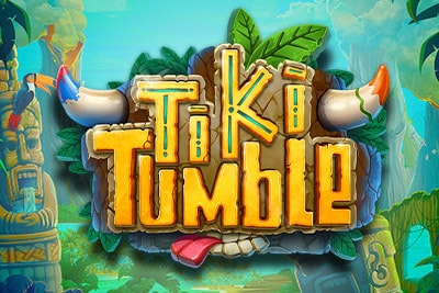 Tiki Tumble Mobile Slot Logo