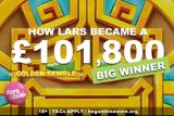Vera John Casino Big Win On Red Tiger Golden Temple Slot