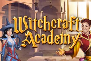 Witchcraft Academy Mobile Slot Logo