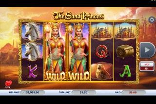 2x2 Gaming The Sand Princess Slot Wild Reels