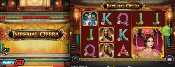 Imperial Opera Slot Machine With Mega Symbols