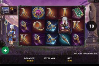 Adelia The Fortune Wielder Slot Free Spins